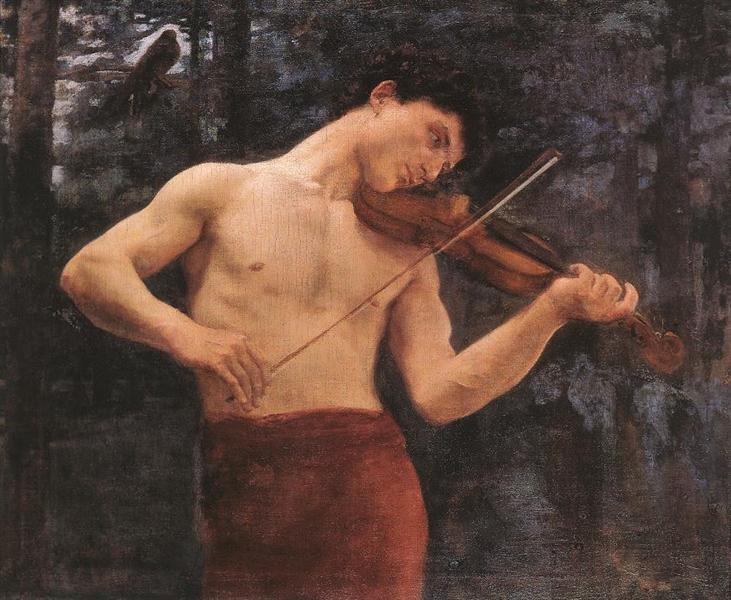Orpheus, 1894 - Карой Ференці