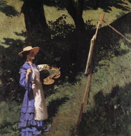 The Woman Painter, 1903 - Károly Ferenczy