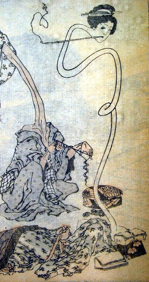 Fukurojin Fukurokuju The God Of Longevity And Wisdom
