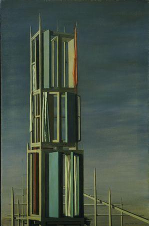 Hyphen, 1954 - Kay Sage