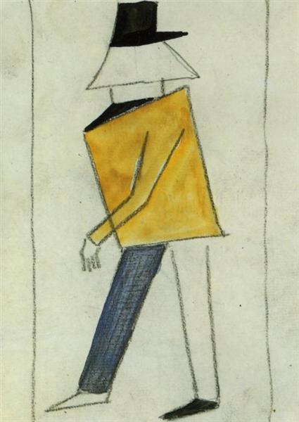 Coward, 1913 - Kazimir Malevich