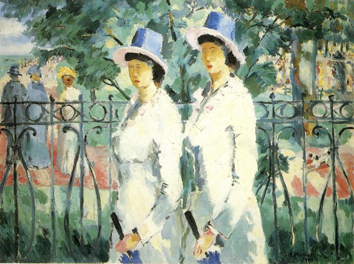 Sisters, 1910 - Казимир Малевич