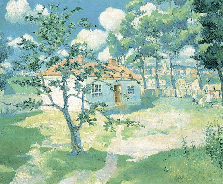 Spring, 1929 - Kazimir Malevich - WikiArt.org