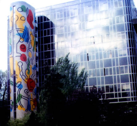 Paris Mural, 1987 - 凱斯·哈林