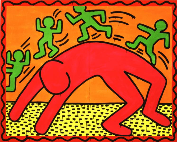 Untitled, 1982 - Keith Haring