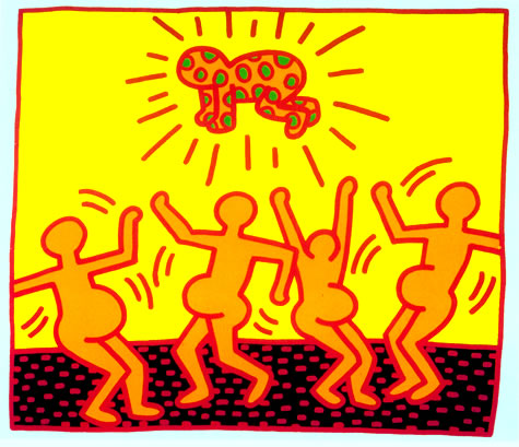 Untitled, 1983 - Keith Haring