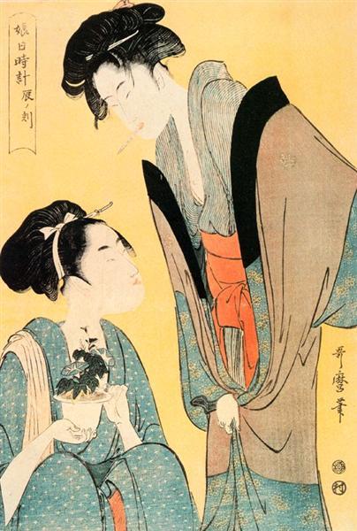 The Hour of the Hare - Kitagawa Utamaro
