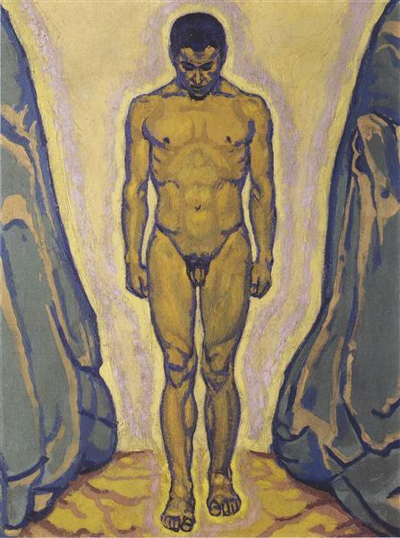 Standing youth, c.1915 - Koloman Moser