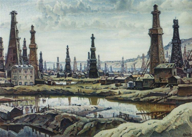 Биби-Эйбат, 1932 - Константин Богаевский