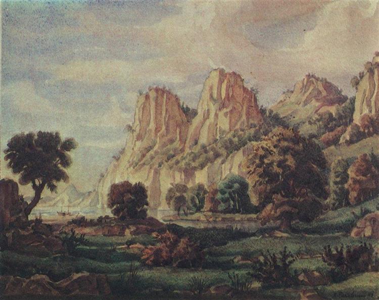 Composition, 1940 - Constantin Bogaïevski