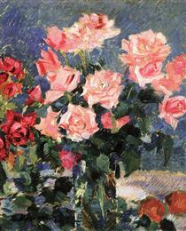 Roses - Konstantin Alexejewitsch Korowin
