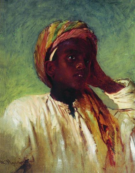 Arab Boy, 1876 - Konstantin Makovsky