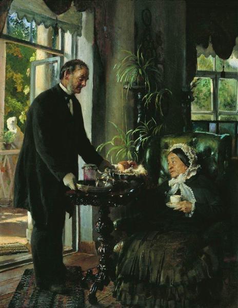 Landlady, 1886 - Konstantin Makovsky