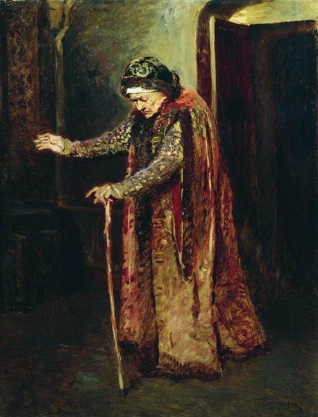 Nanny of Ivan the Terrible, 1880 - Konstantin Makovsky