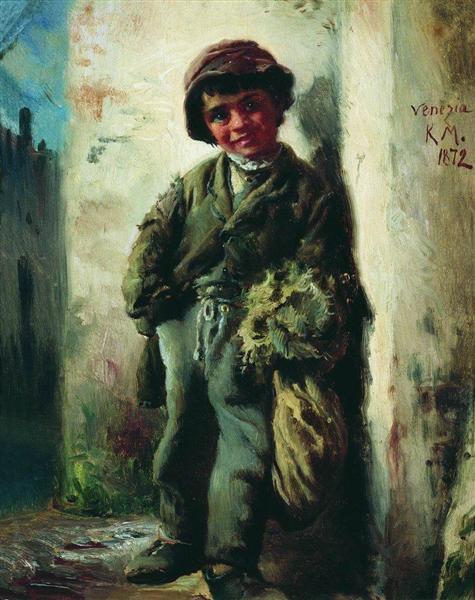 Savoyard, 1872 - Konstantin Makovsky