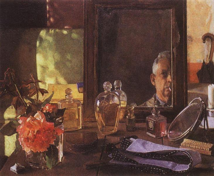 Self-Portrait in the Mirror, 1934 - Konstantin Somov