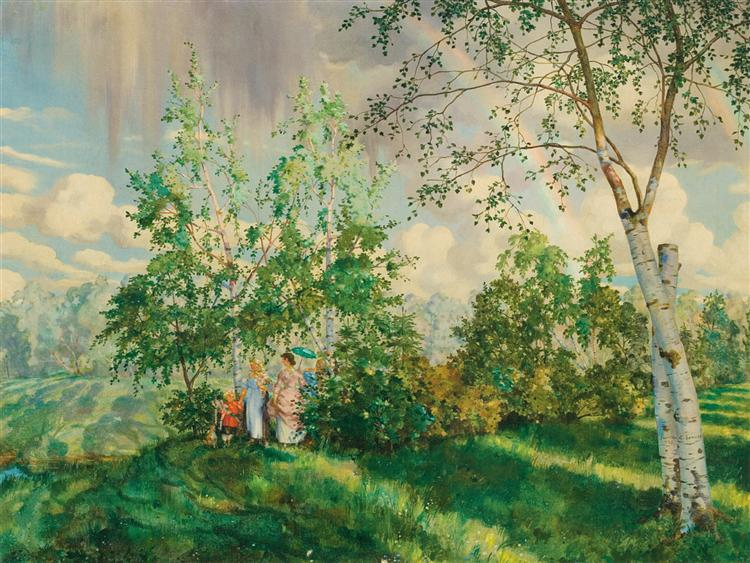 The Rainbow - Konstantin Somov