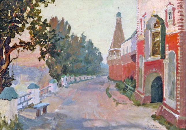 Near The Simon's Monastery, 1913 - Konstantin Yuon