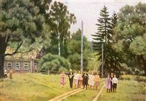 Songs of the collective farm youth. Ligachevо - Konstantin Yuon