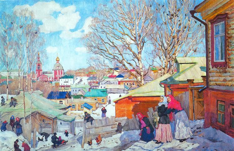 Spring Sunny Day, 1910 - Konstantin Yuon