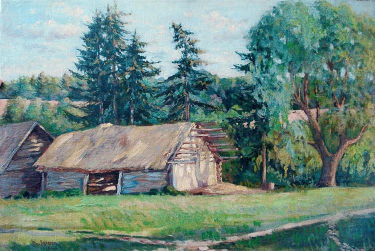 Summer Landscape, 1948 - Konstantin Yuon