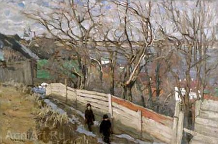 The April Morning, 1903 - Konstantin Yuon