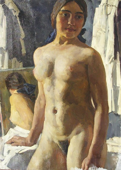 The Body, 1913 - Konstantin Yuon