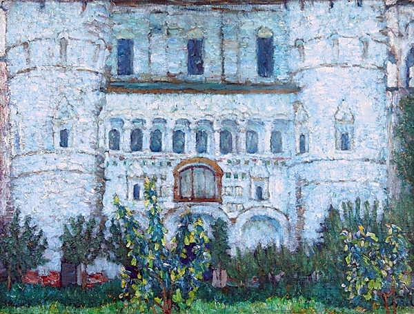 The Rostov's Kremlin Gates, 1906 - Konstantin Yuon