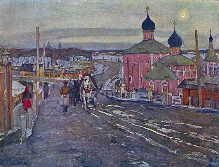 The Twilight - Konstantin Yuon