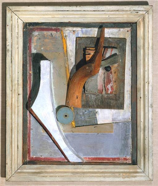 Relief in Relief, 1945 - Kurt Schwitters