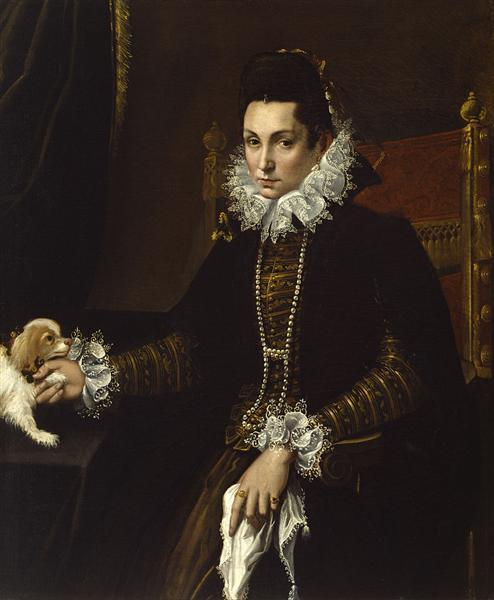 Portrait of Ginevra Aldrovandi Hercolani, 1595 - Lavinia Fontana