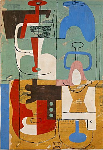 Still Life, 1958 - Le Corbusier