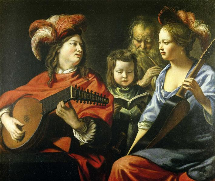 The Concert - Le Nain brothers