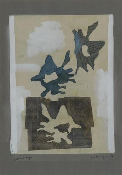 Muschel-Vögel - Leo Leuppi