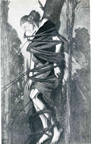 "St. Sebastian, from ""The Martyr of St. Sebastian"" - Леон Бакст"