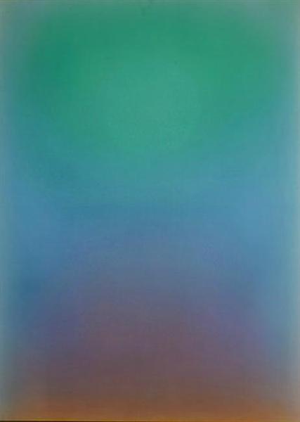 Up Green, 1984 - Leon Berkowitz