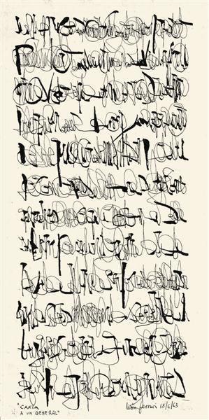Letter to a General, 1963 - Leon Ferrari