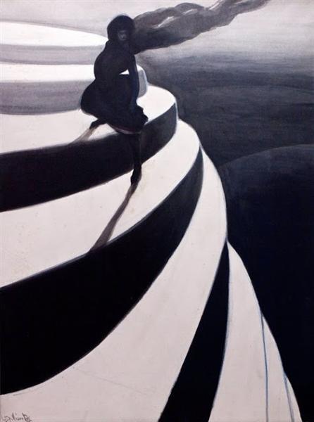 Vertigo, 1908 - Leon Spilliaert