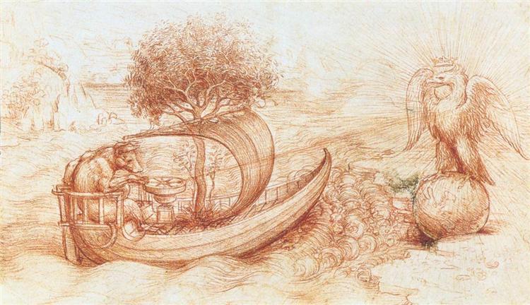 Allegory, c.1516 - Leonardo da Vinci