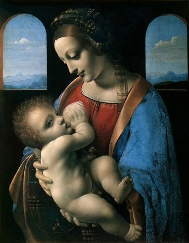 Madonna Litta (Madonna and the Child) - Leonardo da Vinci
