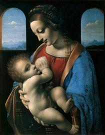 Madonna Litta (Madonna col Bambino) - Leonardo da Vinci