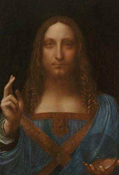 Salvator Mundi, c.1500 - Leonardo da Vinci