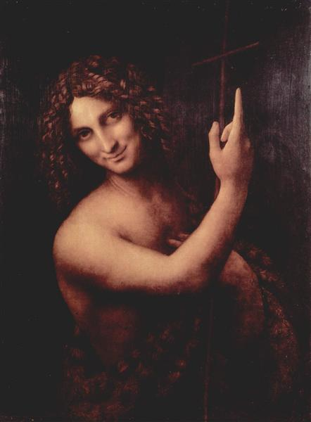 St. John the Baptist, c.1515 - Leonardo da Vinci