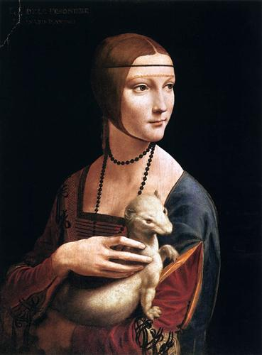The Lady with an Ermine (Cecilia Gallerani) - Leonardo da Vinci