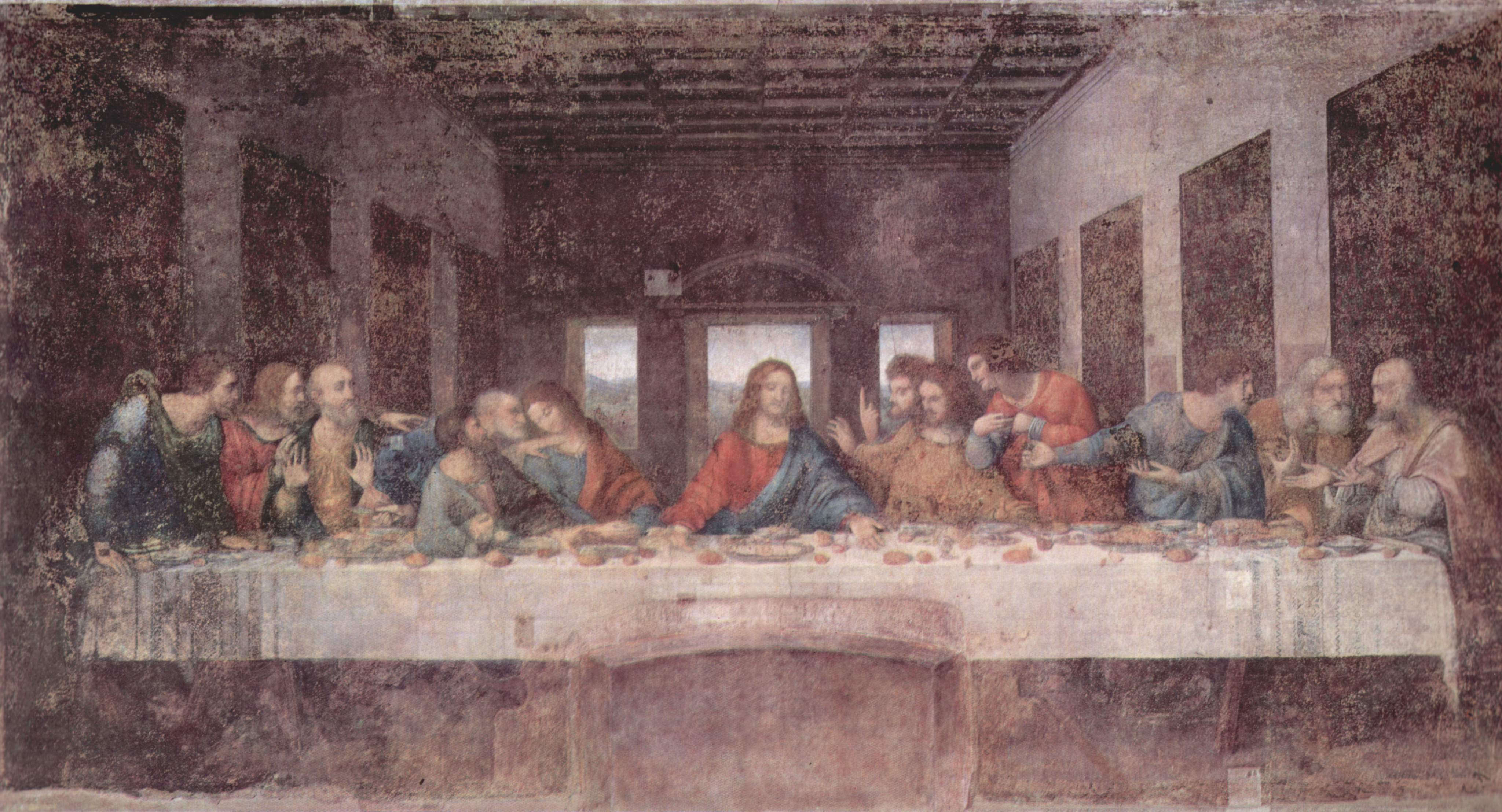 The Last Supper, 1495