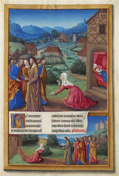 The Canaanite Woman - Limbourg brothers