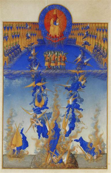 The Fall of the Rebel Angels - Limbourg brothers