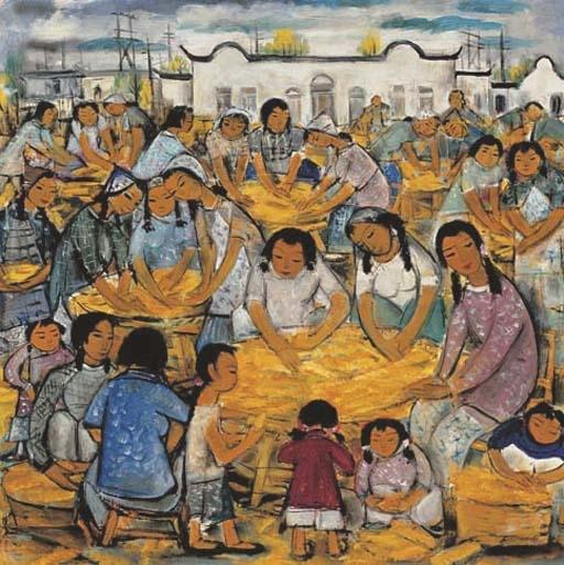 Harvest - Lin Fengmian