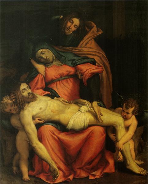 Pieta, 1545 - Lorenzo Lotto