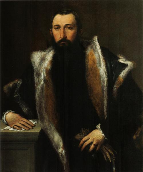 Portrait of Febo da Brescia, 1544 - Lorenzo Lotto